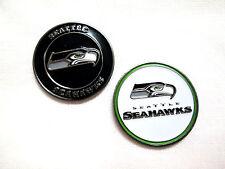 NFL Seattle Seahawks Golf Ball Marker Enamel Metal Team Logo 2 Sided Hat