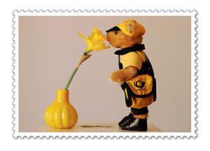 Post Deutsche Post DHL Bruno Posti Plüschfigur 15 cm Post Teddy Teddybär Maskottchen