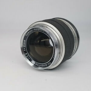 Topcon-RE-Auto-Topcor-35mm-F2-8-in-very-good-condition