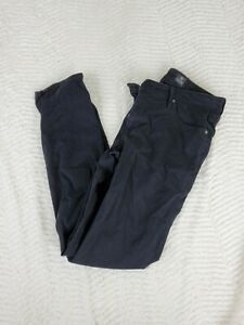 AG-Jeans-Adriano-Goldschmied-Stevie-Ankle-Size-28-Black-Jeans-Skinny-Straight