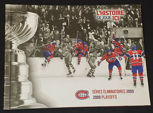 2009-MONTREAL-CANADIENS-BELL-CENTER-PLAYOFFS-TICKET-14-IN-COMMEMORATIVE-ALBUM