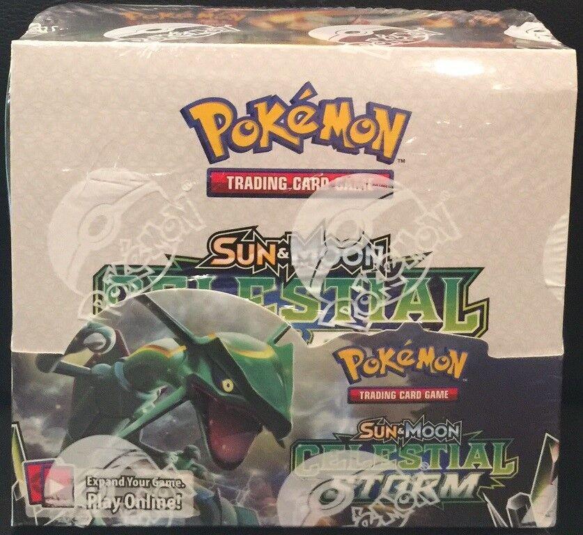 Pokemon tcg sun & moon von sturm - versiegelten kiste - englisch