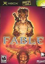Fable 1 Original - XBox Microsoft Game & Case & Book*Complete