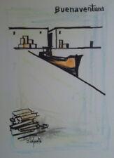 Georges LAPORTE (1926-2000) Technique mixte/papier Buenaventura P1810