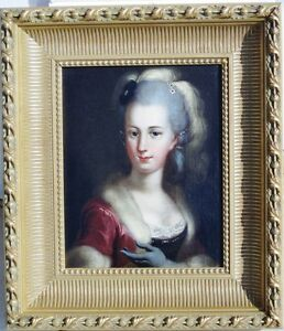 Giovanni-Battista-I-Lampi-Original-Oil-on-Canvas-Portrait-of-Lady-circa-1820