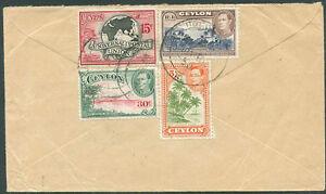 British-Ceylon-TO-AUSTRALIA-AIR-MAIL-Cover-VF