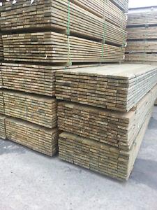 10 M Kiefer Komplettset Terrassendielen Bausatz Terrassenholz Holz