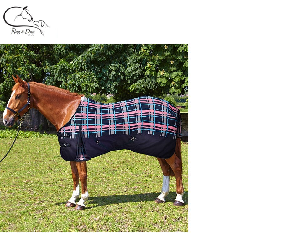 Elico Lightweight No Fill Turnout Rug Rain Sheet STANDARD NECK 5'- 7'3  FREE P&P