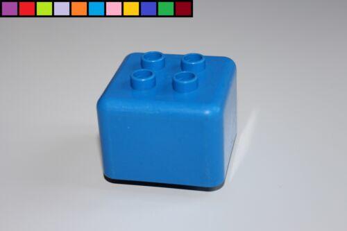 Sondersteine Lego Duplo Primo Adapterstein Bausteine blau