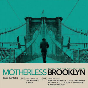 Daily-Battles-MUSIC-FROM-THE-MOVIE-MOTHERLESS-BROOKLYN-New-Vinyl-7-034-Single
