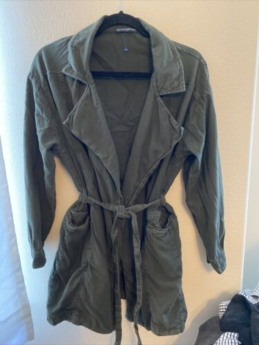 brandy melville Trench Jacket Green