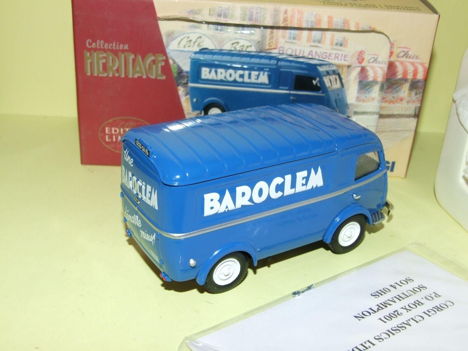 RENAULT 1000 Kg BAROCLEM BAROCLEM BAROCLEM CORGI EX70516 1 43 6e690a