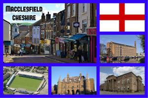 Macclesfield-Cheshire-Souvenir-Nouveaute-Refrigerateur-Aimant-Mire
