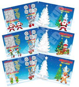 Pack-of-12-Christmas-Fun-and-Games-Activity-Sheets-Party-Bag-Books-Fillers