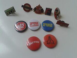 Bundle 10 Sunderland Afc Pin Badges + 5 Button Badges
