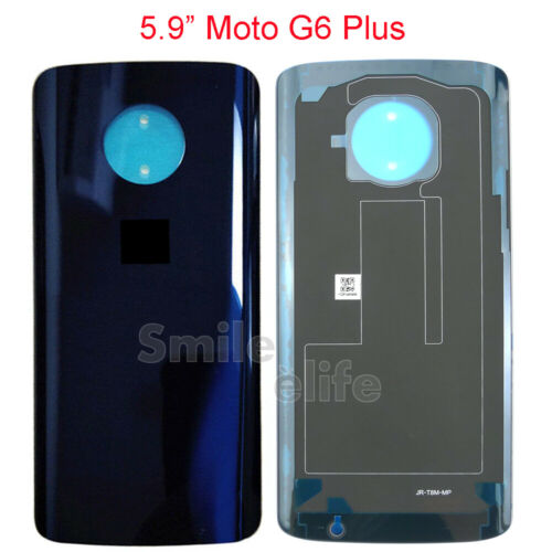 Nuevo Original fabricantes de equipos CARCASA Original Trasera Batería de la contraportada para Motorola Moto G6 G6 Plus