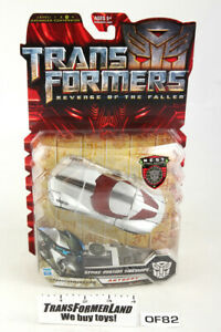 Strike Mission Sideswipe Sealed MOSC Deluxe Movie ROTF Transformers