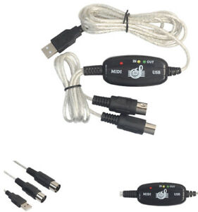 USB-IN-OUT-MIDI-Interface-Cable-Converter-PC-to-Music-Keyboard-Adapter-Cord-New