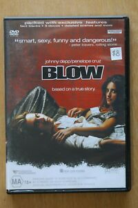 Blow (DVD, 2002)         Preowned (D210)