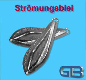 Stroemungsblei-Angelblei-Grundblei-25g-40g-60g-Karpfenblei-mit-Ose