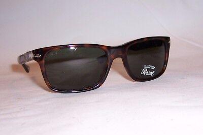 Persol PO 3048S 24//31 Havana w//Crystal Green Sunglasses 3048-S 58mm