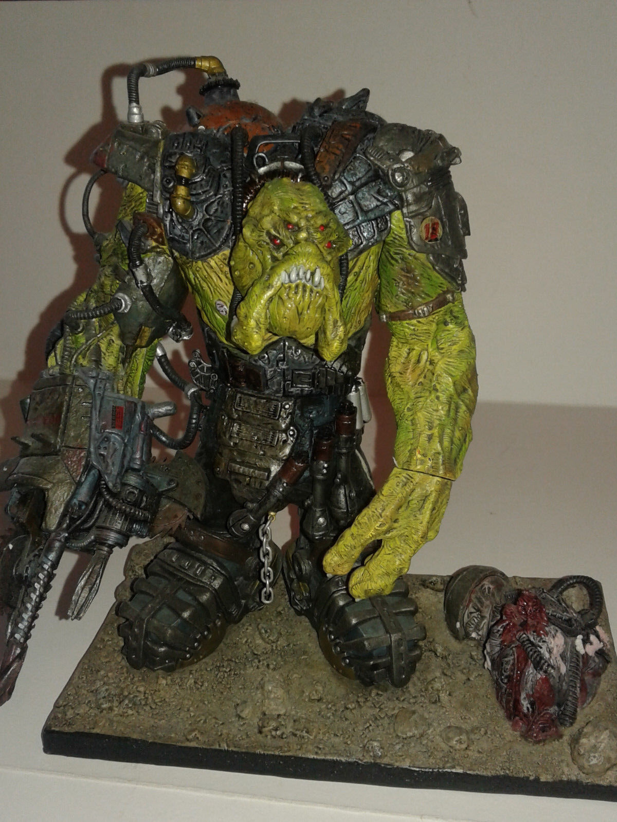 Stan Winston Creatures - HORGG - Mutant Earth Loose Figure 2001