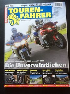 Tourenfahrer April 4/2015 u.a. Honda CTX 1300 / ST 1300, KTM 1290 / 1050 Adventu - Erftstadt, Deutschland - Tourenfahrer April 4/2015 u.a. Honda CTX 1300 / ST 1300, KTM 1290 / 1050 Adventu - Erftstadt, Deutschland