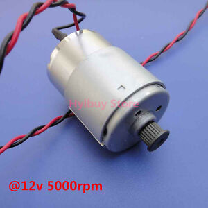 Dc 6v 18v 12v small motor dc motor gear synchronous pulley for Small electric motor pulleys