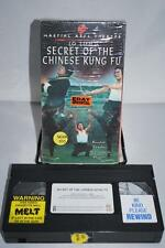 Lo Lieh in Secret of the Chinese Kung Fu English Video Marital Art VHS OOP