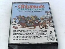 A Chipmunk Christmas Cassette Tape (EMI America 1985) - SEALED