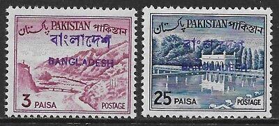 21331 Typ Ab13.5-14-01 Pakistan Mit Handstempelaufdruck Bangladesh Vorläufer;