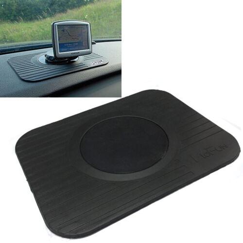 Panel de goma slim portátil TomTom GPS SAT NAV Antiadherente Coche Soporte De Montaje Mat