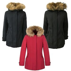 Hood Murmasky Fur Jacket Afneembaar Norway Babel Woman Feather Parka 29DHEWIY