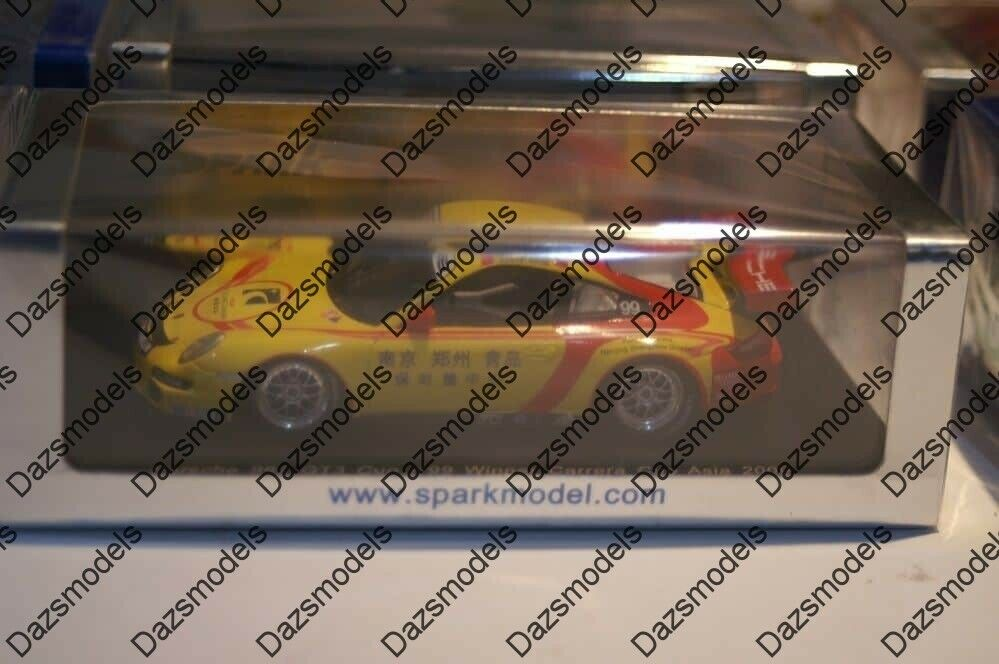 Spark Porsche 997 GT3 Cup  99 WINNER voiturerera Cup  Asia 2009 S2063  distribution globale