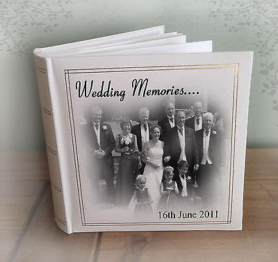 """200 x 7x5/"""" photos Personalised large photo album Scotland holiday honeymoon"""