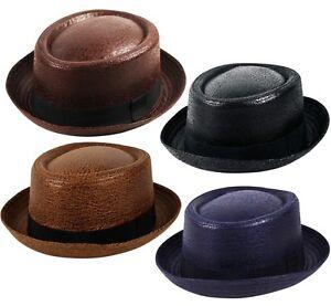 Image is loading HEISENBERG-BREAKING-BAD-Vintage-Texturised-Faux-Leather- Pork- e13c3a69056