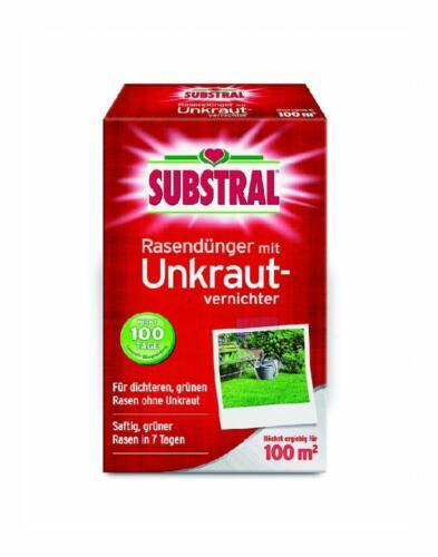 Substral Rasendünger mit Unkrautvernichter Profiqualität 100 Tage...
