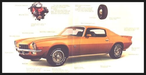 Z28 Sales Brochure MINT Original 72 1972 Chevy Camaro
