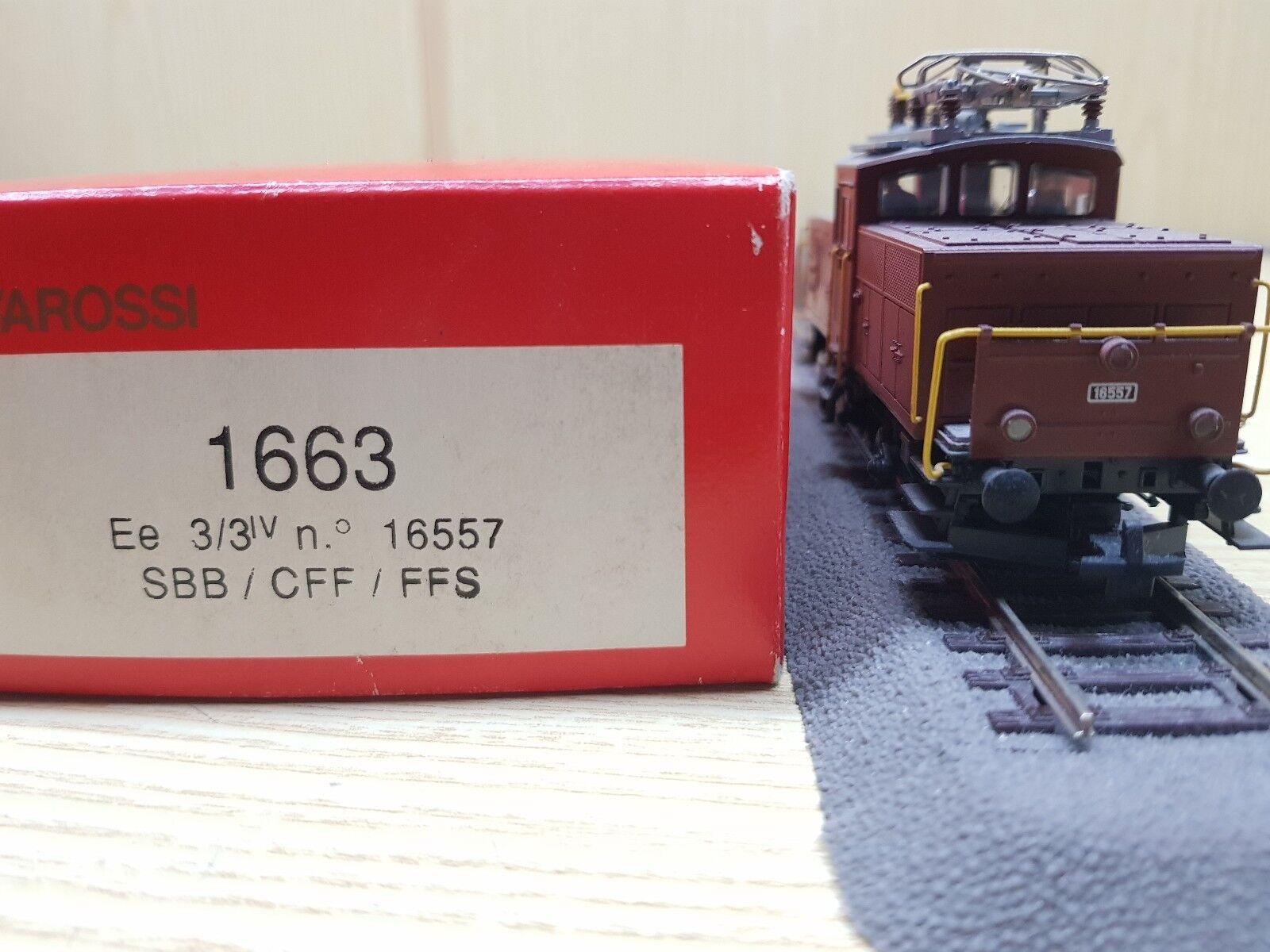 Rivarossi 1663 locomotiva elettrica ee 3   3 n. 16557 + decoder