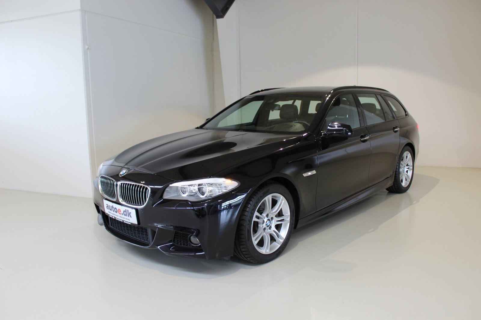 BMW 520d 2,0 Touring M-Sport aut. 5d - 379.800 kr.