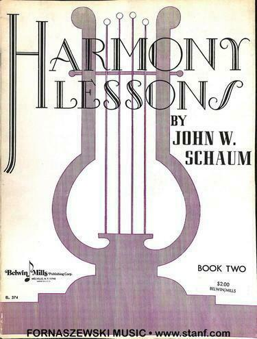 Harmony Lessons By John W Schaum Book 2