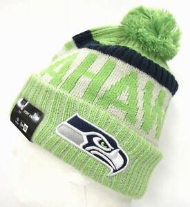 finest selection e93c0 38dc7 Image is loading 2017-18-Seattle-Seahawks-Reverse-NEW-ERA-NFL-