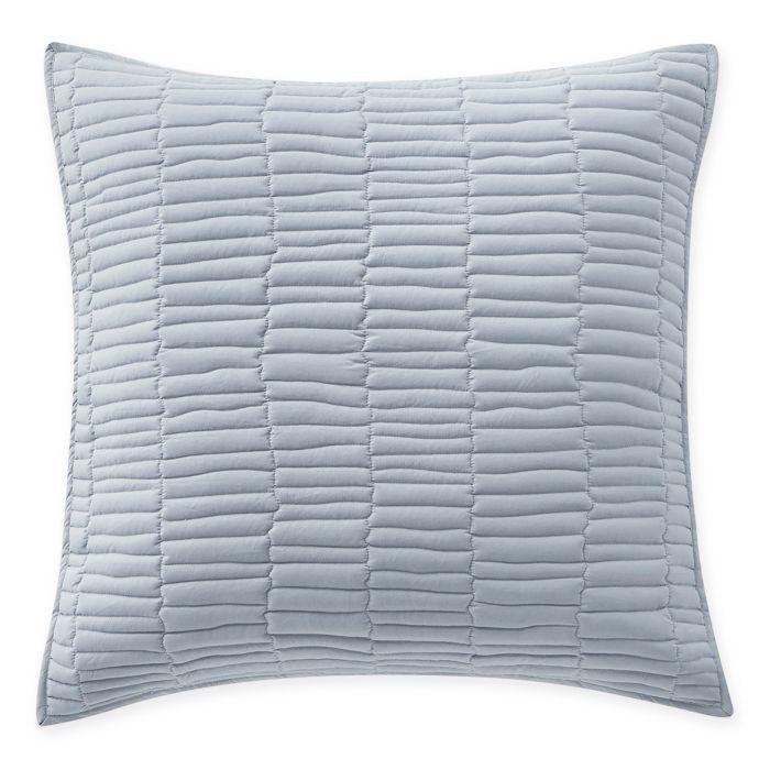 Highline Bedding Co. Messina Quilt European Pillow Sham in Sky blueeee