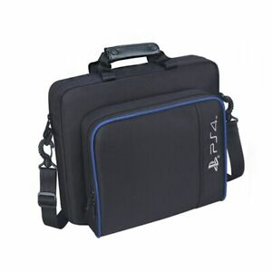 For PS4/Slim/PS3 Game Consoles Accessories Shoulder Bag Black Travel Carry Case