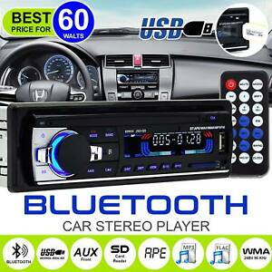 Bluetooth-Car-Radio-Stereo-HeadUnit-Player-In-dash-MP3-USB-SD-FM-Iphone-Non-CD