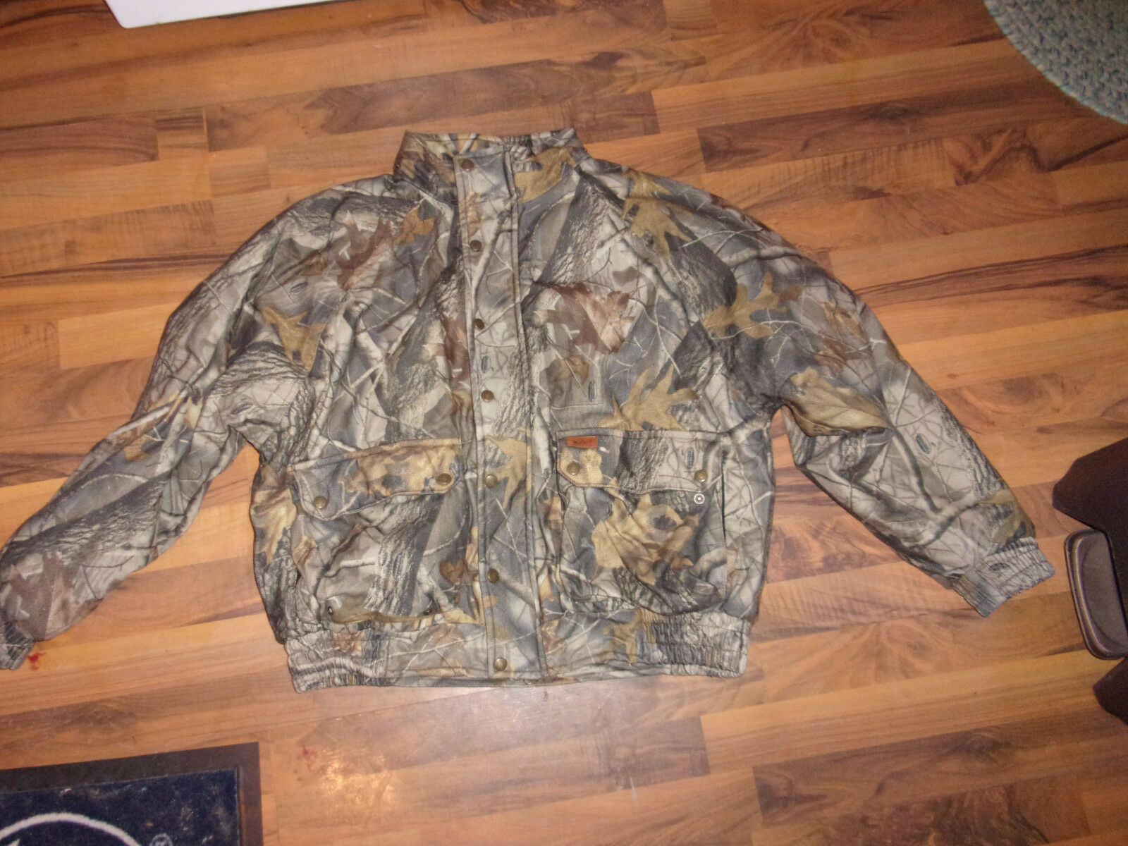 WOOLRICH REALTREE CAMO MENS INSULATED HUNTING COAT SIZE LARGE