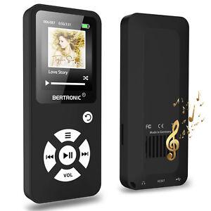MP3-Player-8-GB-Royal-BC01-100-Stunden-Wiedergabe-Schrittzaehler-Schwarz