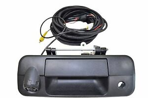 tailgate handle with reverse backup camera assembly for. Black Bedroom Furniture Sets. Home Design Ideas