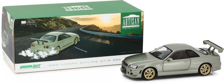 vendita online verdelight 1999 Nissan cieloline Gt-R (R34) Millennium Jade 1 18 18 18  basta comprarlo