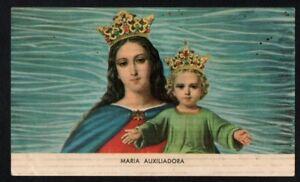 Image pieuse ancianne Virgin Maria Auxiliadora santino holy card andachtsbild Ms6WEMOi-09173035-339773331
